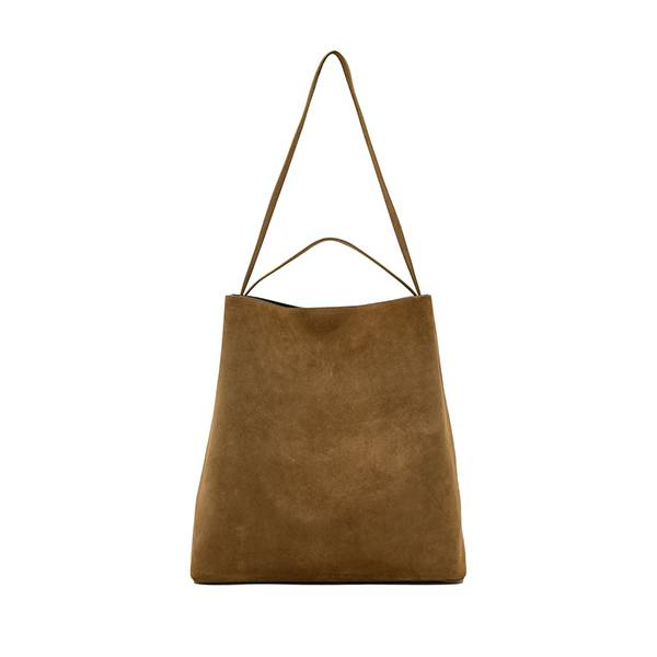 AESTHER EKME Sac Tote Bag Suede Tobacco