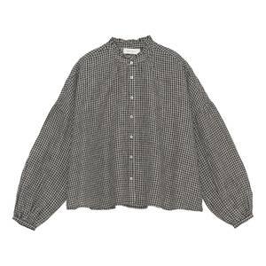 Image of Skall Studio Suzanne Shirt Check Black/Beige