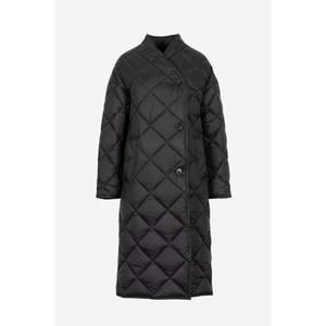Bilde av Lempelius Quilted Long Coat Black