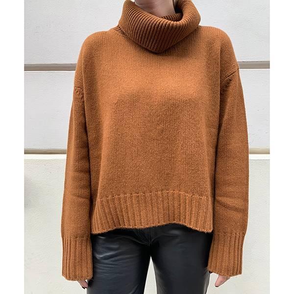 Lisa Yang Lucca Sweater Cinnamon